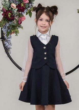 Школьный костюм для девочки подростка