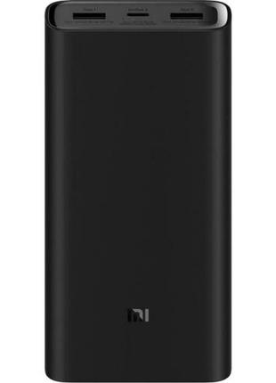 """""""Внешний аккумулятор xiaomi mi power bank 3 Pro 20000 mah черный"""""""
