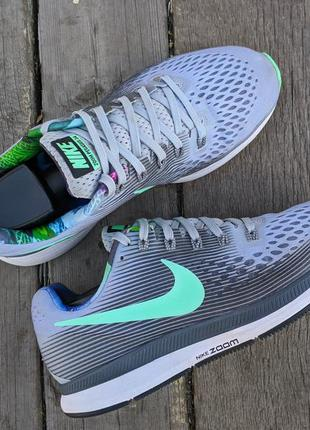 Nike air zoom pegasus 34 solstice 25.5см женские кроссовки