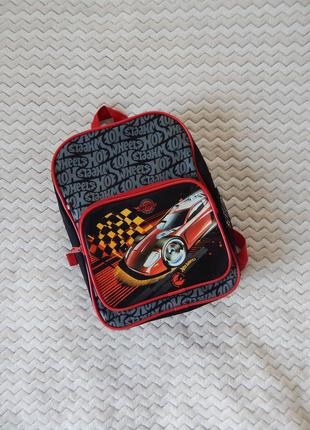 Стильний дитячий рюкзак детский школьный від hot wheels