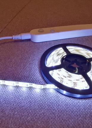 LED подсветка (светодиодная лента) с датчиком движения. IP65 PIR