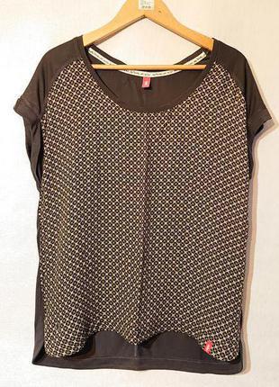 Женская блуза edc, l-xl 48-50-52 футболка, блузка edc
