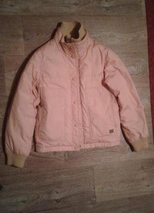 Куртка демисезонная / курточка ветровка парка подростковая теп...