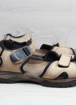 Кожаные мужские сандали clarks active air, размер 43