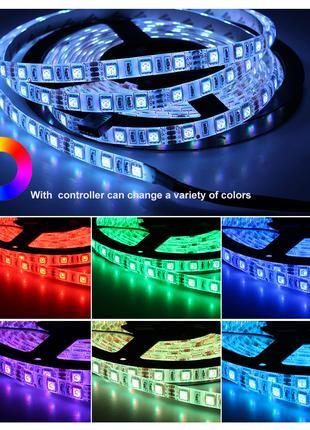 Светодиодная лента RGBW/IP65 SMD5050 DC12V (60led/м) 5м