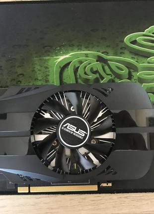 Видеокарта ASUS GeForce GTX 1050ti 4gb (коврик Razer в подарок )
