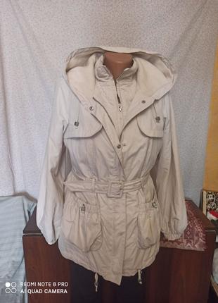 Куртка +жилетка 2в1, 44-46р.