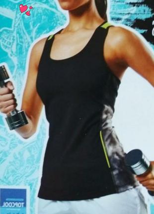 Функциональная спорт майка, одежда для фитнеса