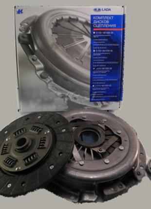 Комплект Корзина Диск Сцепление ВАЗ 2121 21213 Нива Тайга 2123...