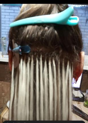 Наращивание волос на Гагарина