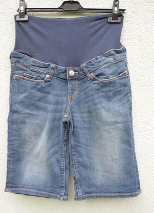 Красивые джинсовые шорты для беременных
