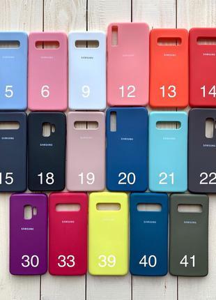 Чехол на/для Samsung S10/9/9+ A9/8/8+/6/ А20/30/50 Note Plus А S