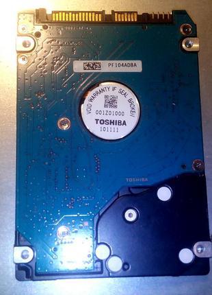 Toshiba 500GB 7200rpm 16MB MK5056GSY 2.5 SATA II
