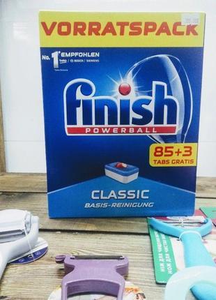 Таблетки для посудомоечных машин 88 шт FINISH Powerball Classic Ф