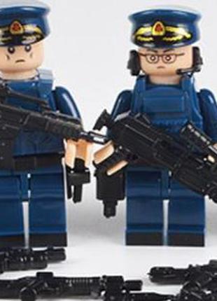 Фигурки, человечки воздушный флот лего, lego аналог