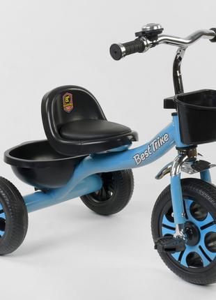 Велосипед детский трёхколёсный Синий, Best Trike