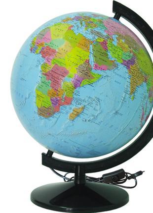 Глобус ІПТ Політичний з підсвічуванням 320 мм