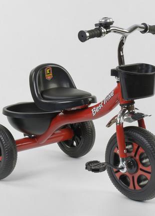 Велосипед детский трёхколёсный Красный Best Trike