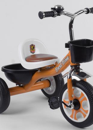Велосипед детский трёхколёсный Оранжевый Best Trike