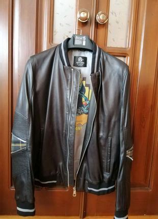 Мужская кожанная куртка