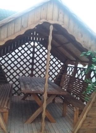 Продам беседки качели столы лавочки и другие изделия из дерева