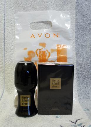 Набор: парфумированная вода 50мл и дезодарант  little black dress