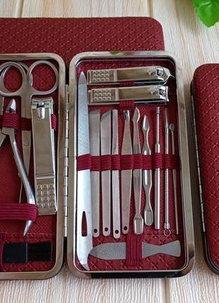 Маникюрно-педикюрный набор из 20 инструментов