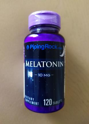 Мелатонин 10 mg 120 таб Piping Rock США.
