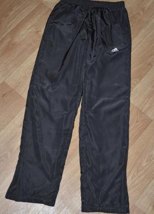Мужские зимние, теплые спортивные штаны- брюки адидас