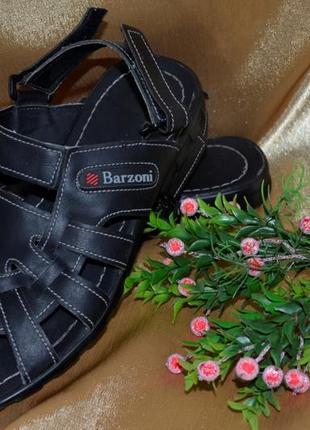 Мужские кожаные(натуральная кожа) сандали- шлепки