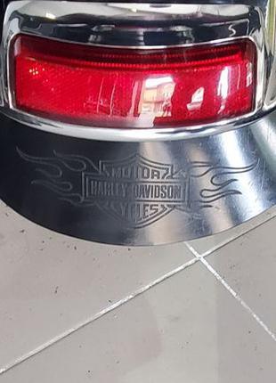 Бризговик удлинитель заднего крыла полиуритаy Harley-Davidson ...