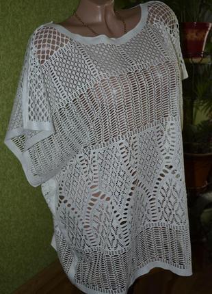 Красивая, ажурная блуза от atmosphere