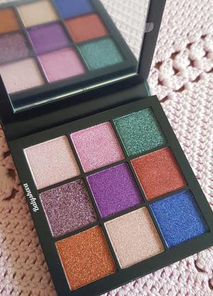 Huda beauty gemstone obsessions eyeshadow palette палетка тене...