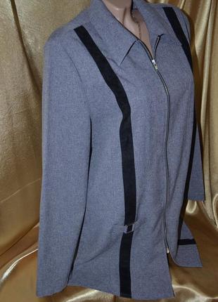 Женский пиджак на молнии, новый без этикетки