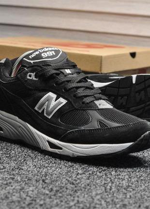 Кроссовки new balance 991 black