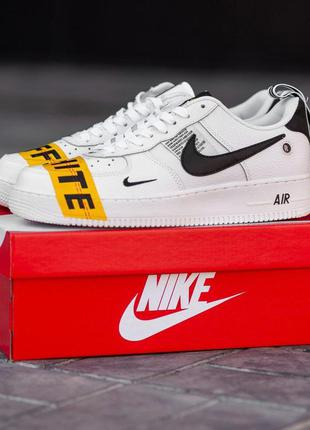 Кроссовки nike air force low x off-white
