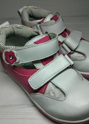 Туфли для девочки кожаная стелька супанатор туфлі для дівчинки...