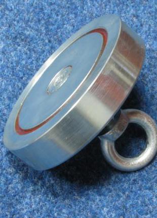 Поисковый магнит односторонний F=600кг РЕДМАГ
