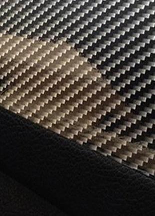 Пленка под карбон черная 2д, карбоновая пленка под лаком серо-чер