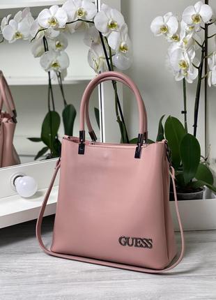 Женская сумка цвет пудра