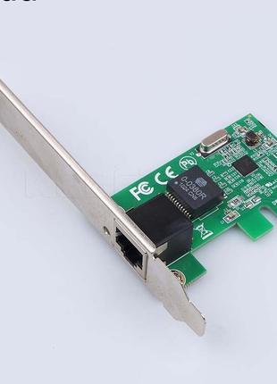 Мережева Сетевая карта PCI-E EXPRESS 10/100/1000M