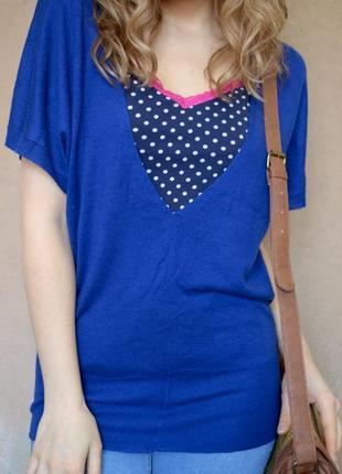 Шикарная блузка с коротким рукавом