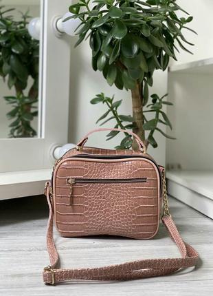 Женская сумка клатч , цвет пудра