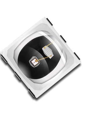УФ светодиод SMD 5050 5051 5054 спектр 365 + 405NM для маникюра