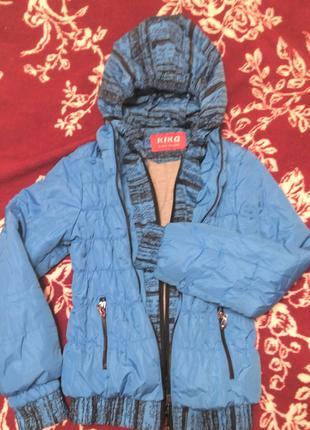 Куртка для девочки 8-10 лет демисезонная