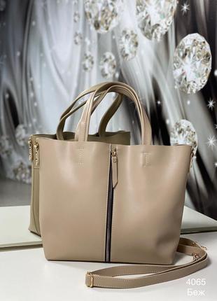 Женская повседневная сумка, под формат а4