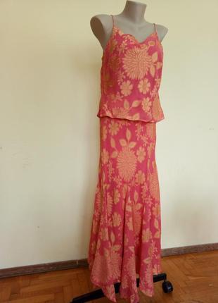 Красивое платье шелк вискоза