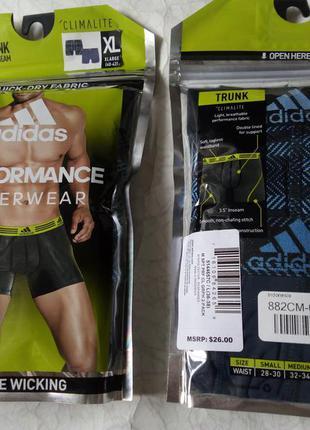 Мужские трусы шорты adidas sport-performance climalite® trunks...