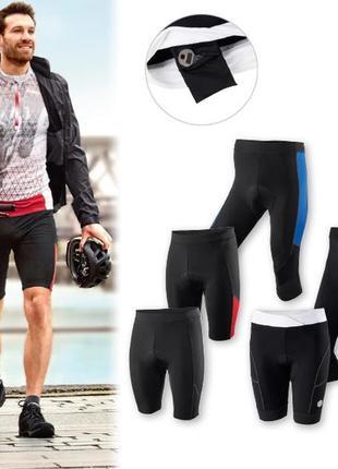 Велошорты mens cycling trousers crivit, s