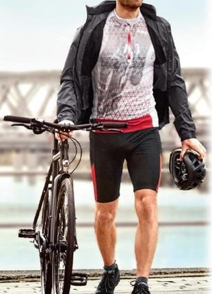 Велошорты мужские c 3d памперсом crivit sports, m(48/50)